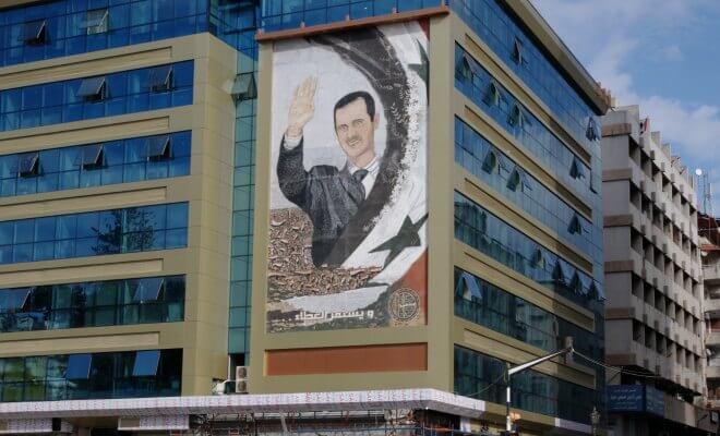assad syrie balanche