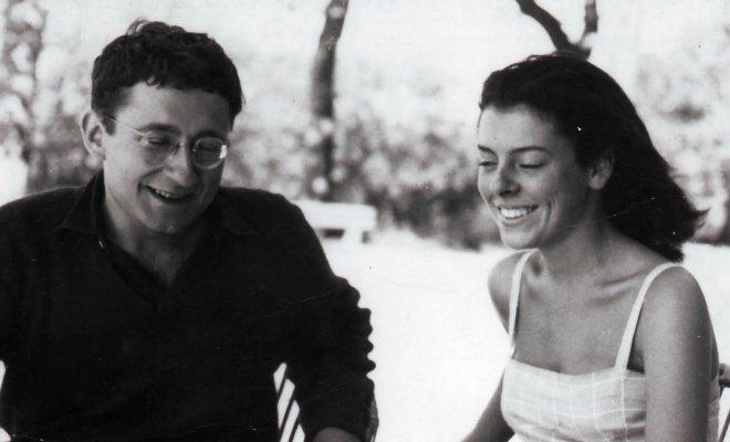 Guy Debord et sa demi-soeur Michèle.