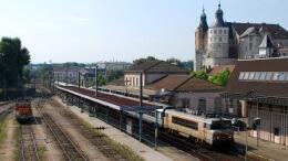 Photo : gare de Montbéliard. Wikipedia/ Own work AuthorChristophe Jacquet.