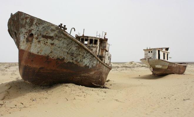 mer aral kazakhstan